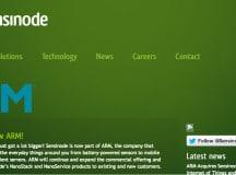 Sensinode Homepage