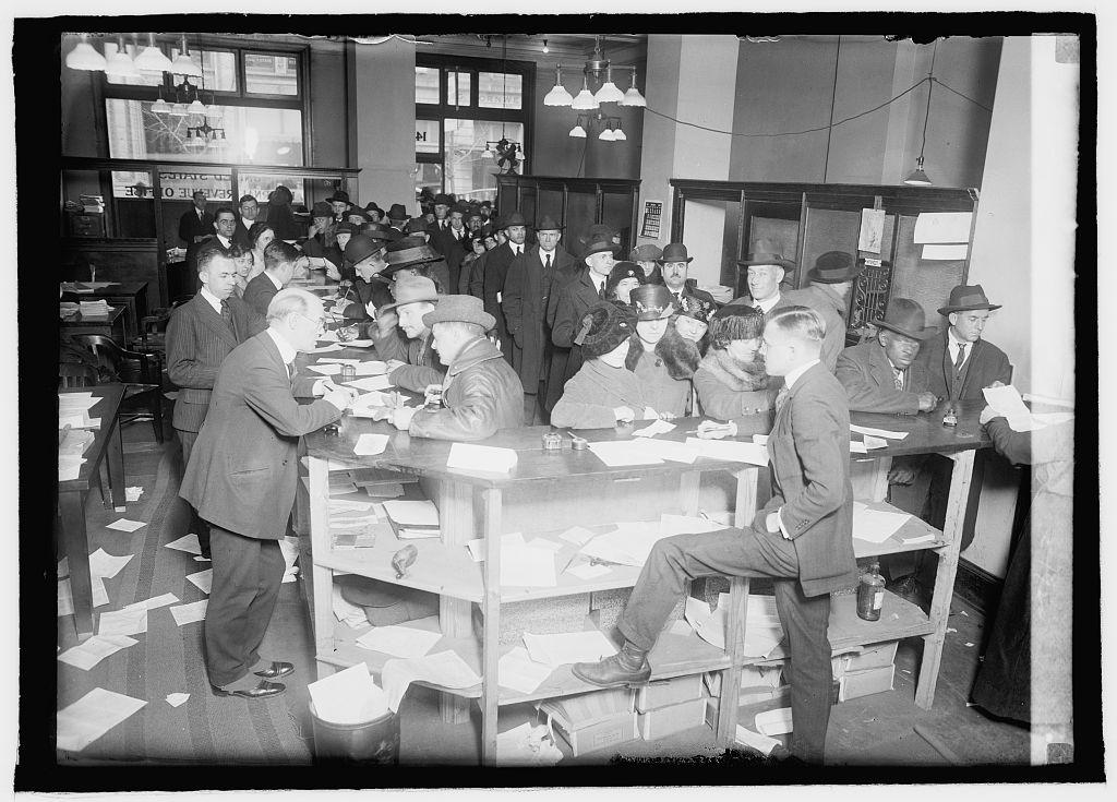 Tax Day 1920